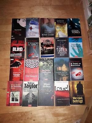 Bücherpaket 20 Krimi*Thriller*Spannung; Kellerman+Hoffmann+Blunt+Pepper+Hill+Tay