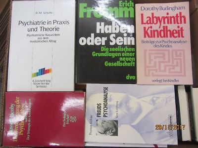 56 Bücher Psychologie Psychotherapie Seelenkunde Paarberatung Diagnose