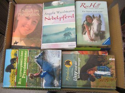 52 Bücher Pferderomane Pferdebücher Pferdeabenteuer Jugendbücher Jugendromane