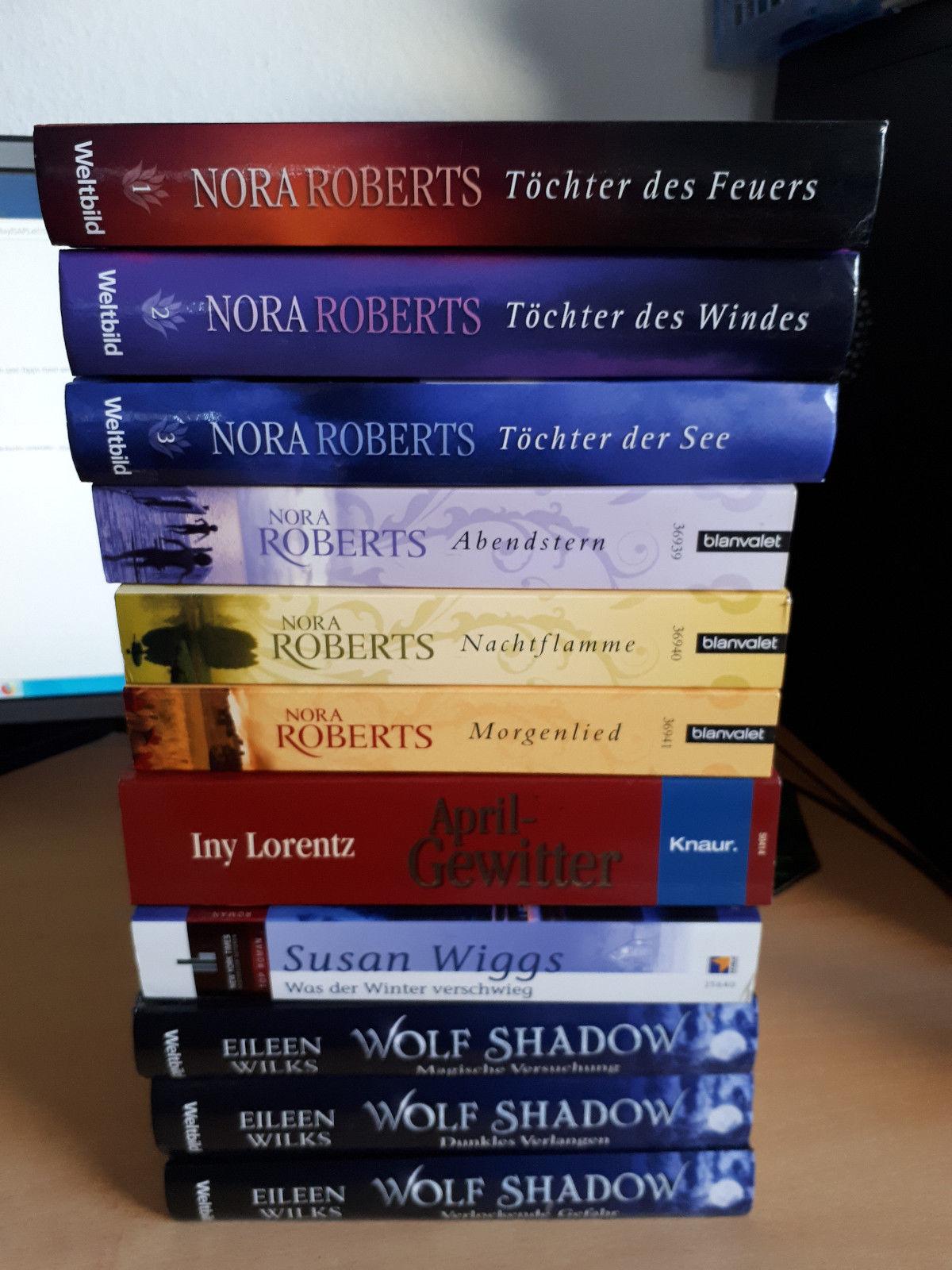 4 Kg Bücher verschiedene Schriftsteller Frauen Romane Bundels