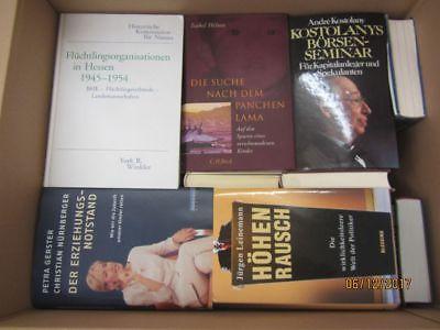 40 Bücher Sachbücher Wissenschaft Wirtschaft Politik Zeitgeschichte