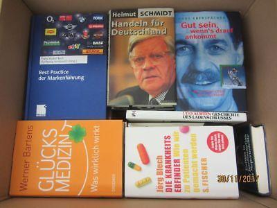 37 Bücher Sachbücher Wissenschaft Wirtschaft Politik Zeitgeschichte Paket 1