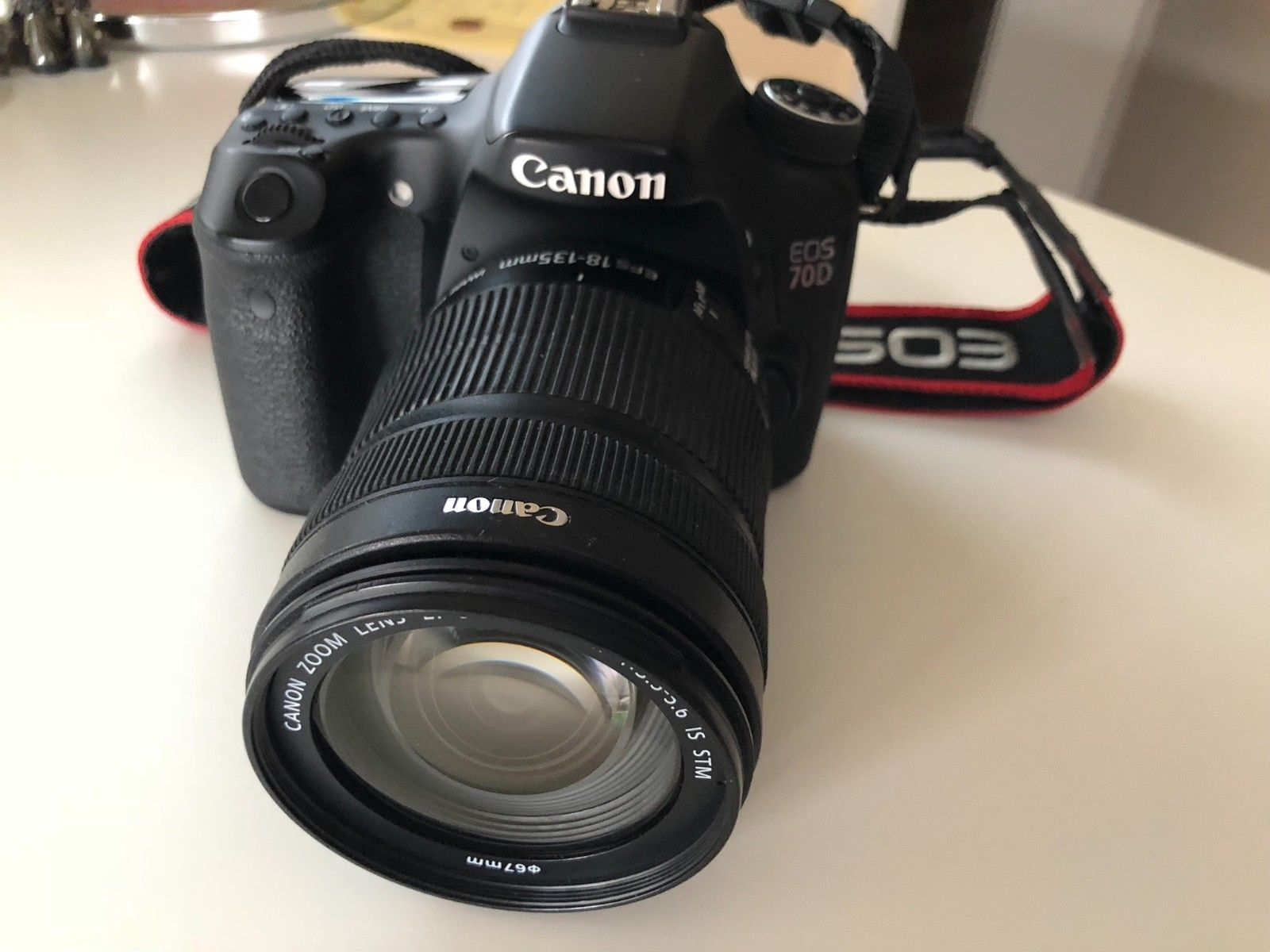 Canon EOS 70D  (Kit m/ EF-S 18-135mm f/3.5-5.6 IS STM) mit OVP