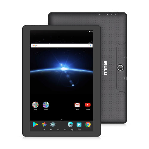 Android 7.1 Nougat Tablet PC 10,1 Zoll 16GB IPS Full HD Bluetooth WLAN Schwarz