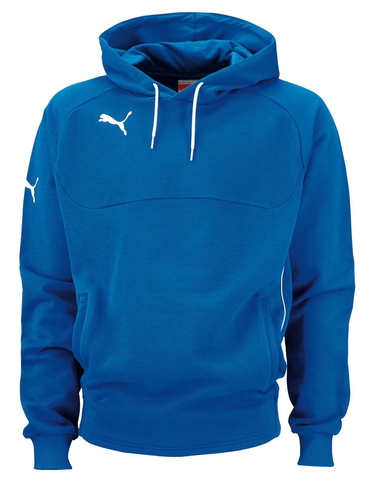 Puma Herren Hoody Kapuzenpullover Pullover Kapuze Hooded Sweatshirt Blau NEU