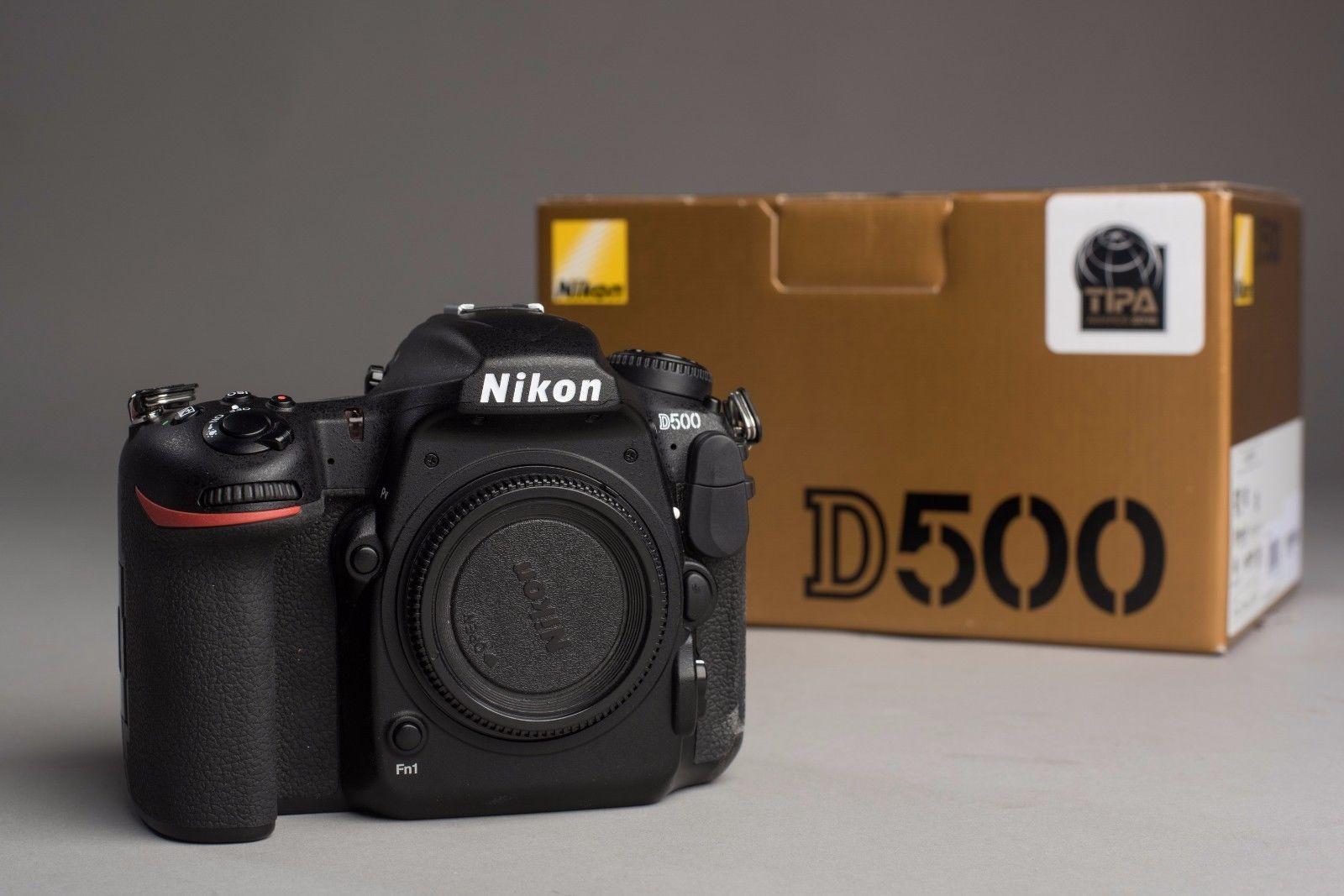 Nikon D500 Body gebraucht aber sehr gepflegt war Zweitkamera