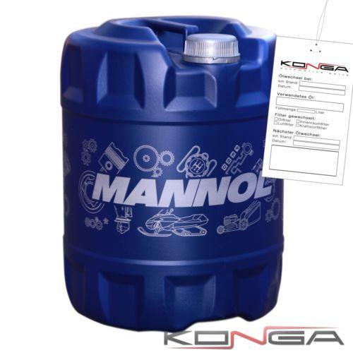 20 Liter MANNOL Energy 5W-30 5W30 Motoröl ÖL