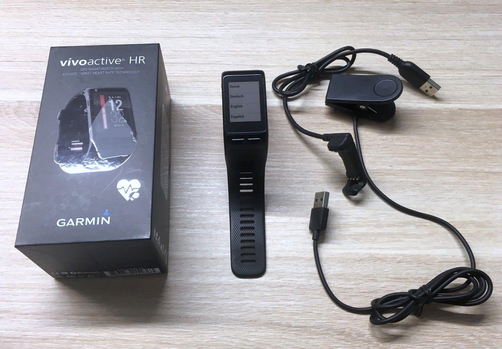 Swarovski Entfernungsmesser Quad : Garmin vivoactive hr gps smartwatch mit pulsmesser
