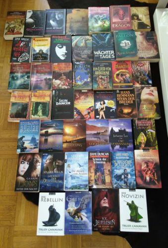 45 Fantasy Bücher Bücherpaket z.T ganze Serien Top!!
