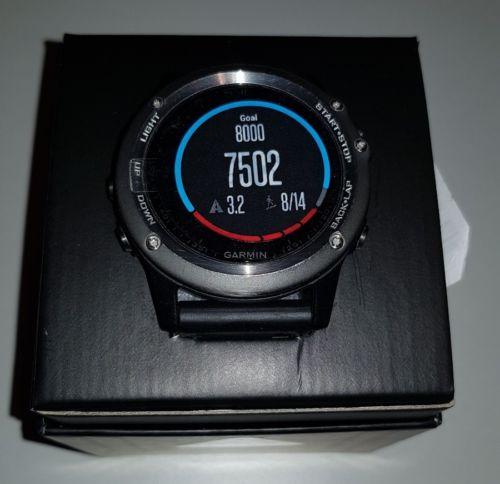 Garmin fenix 3 HR Fahrrad/Laufen/Schwimmen GPS-Uhr OVP mit Rechnung und Garantie