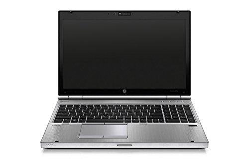 HP Elitebook 8570p 39,624 cm (15,6 Zoll HD) Notebook (Intel Core i5, 6GB, 320GB, Intel HD 4000, Bluetooth, Windows 10 Home ) silber (Zertifiziert und Generalüberholt)