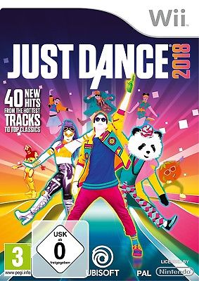 Just Dance 2018 18 - Nintendo Wii Tanzspiel - NEU OVP