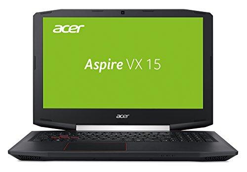 Acer Aspire VX 15 (VX5-591G-5952) 15,6 Zoll (39,62 cm) Full-HD IPS (matt) (Intel Core i5-7300HQ, 8 GB RAM, 128 GB SSD + 1.000 GB HDD, NVIDIA GeForce GTX 1050 (4 GB GDDR5 VRAM), Win 10 Home) schwarz