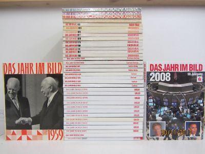 37 Bücher Jahrbücher Jahreschroniken Das Jahr im Bild Carlsen Verlag 1959-2008