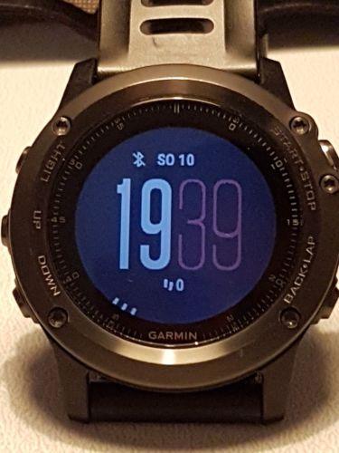 Garmin fenix 3 saphir Metallarmband, OVP GPS Smartwatch