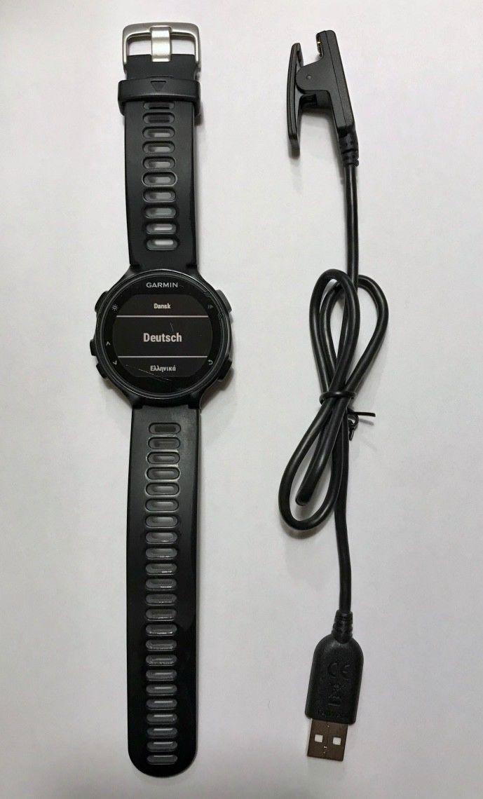 Garmin Forerunner 735XT Schwarz HRM Bundle schwarz Multisport Uhr