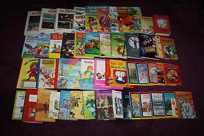 50 x Kinderbücher Kinder Bücher Buch Paket Bücherpaket