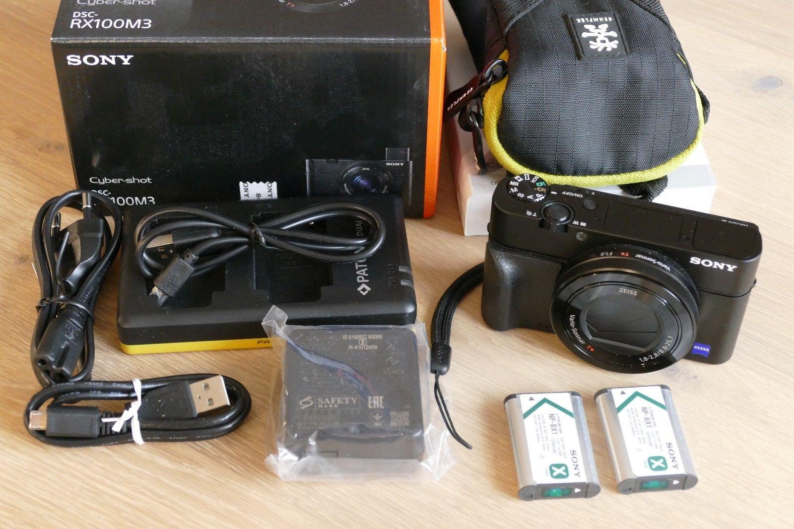 Sony Cyber-shot DSC-RX100 III 20.1 MP Digitalkamera - Schwarz