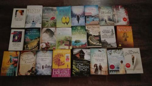 tolles Bücherpaket 24 aktuelle Frauenromane