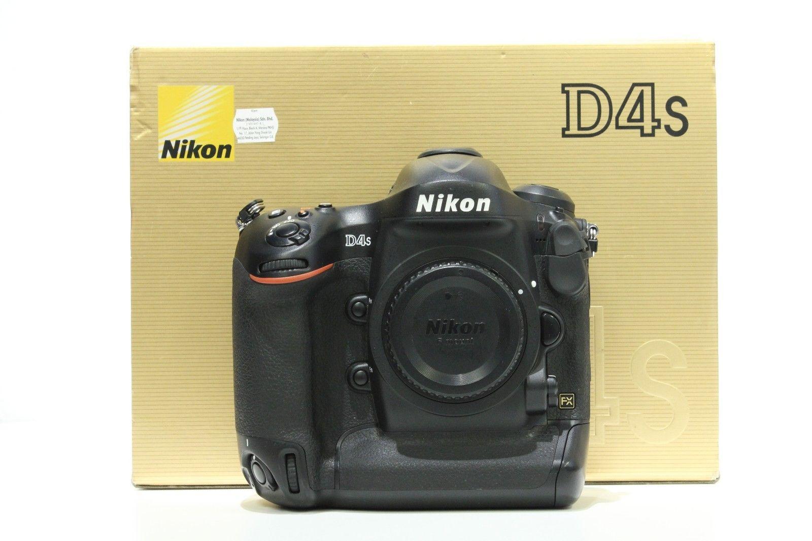 Nikon D4S 16.2 MP Profi-DSLR  (Nur Gehäuse/Body Only) in OVP - Sehr Gute Zustand