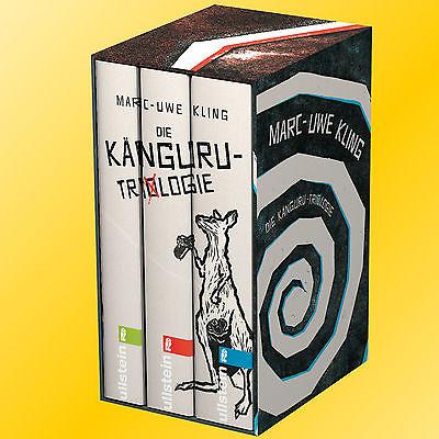 MARC-UWE KLING | DIE KÄNGURU-TRILOGIE | Chroniken+Manifest+Offenbarung (Buch)