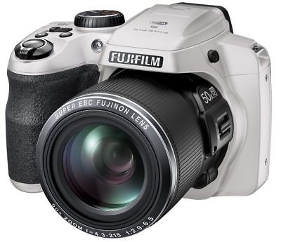 Fujifilm Finepix S9900w Black WiFi White Digital Bridge Camera