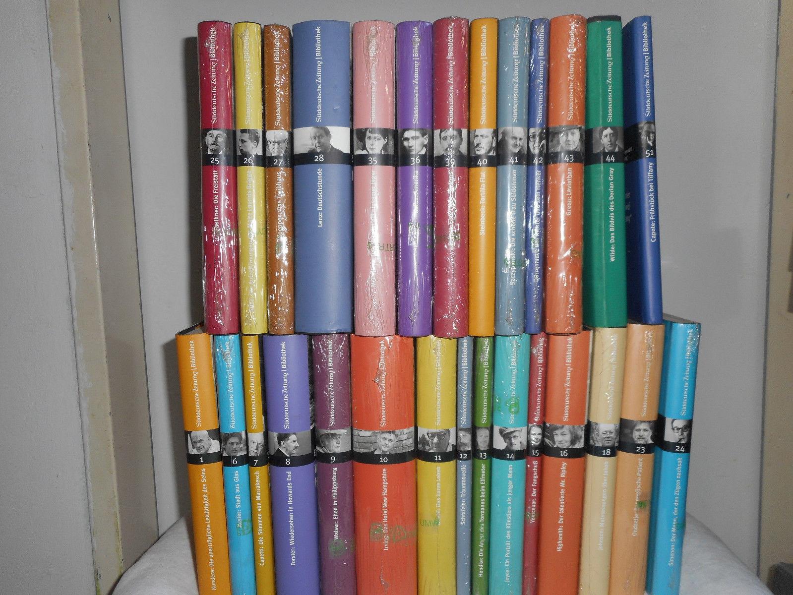 SZ Bibliothek Bände zwischen 1 und 51 , unvollständig, insgesamt 28 Bücher