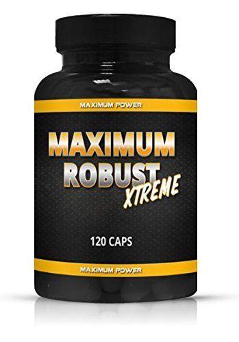 Maximum Robust Testo Booster Testosteron Booster Muskelaufbau extrem