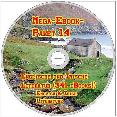 Mega-Ebook-Paket 14 ENGLISCHE und IRISCHE LITERATUR CD English Irish Literature