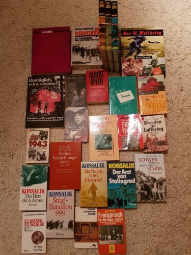 25 Bücher über den 2.Weltkrieg, Bücherpaket, Büchersammlung
