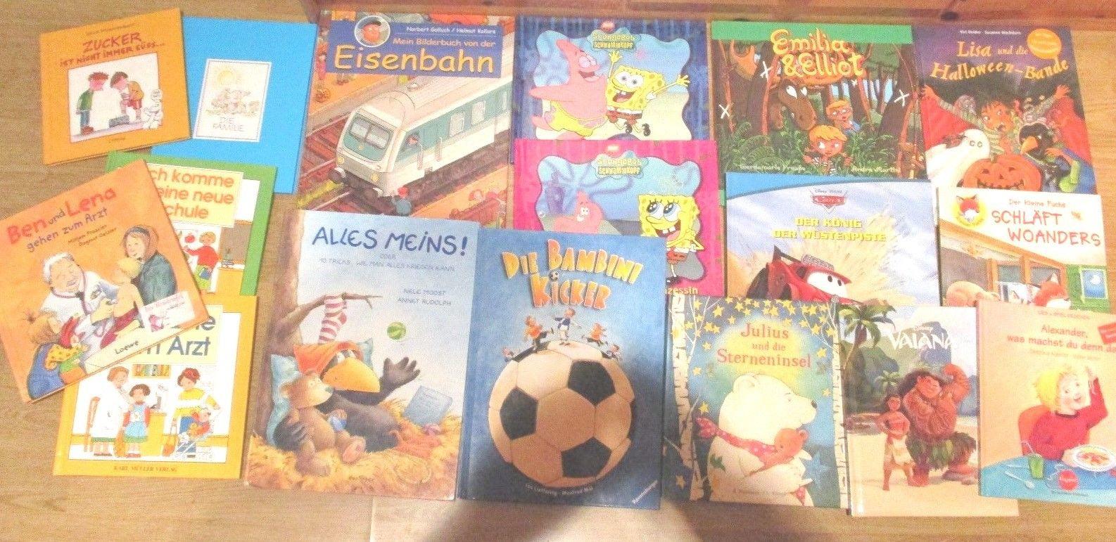 17  x  Kinderbücher / Bilderbücher - SIEHE BILD - Sehr guter, guter Zustand, an