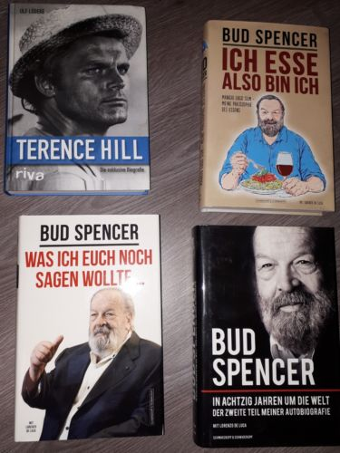 4 Bücher Bud Spencer und Terence Hill