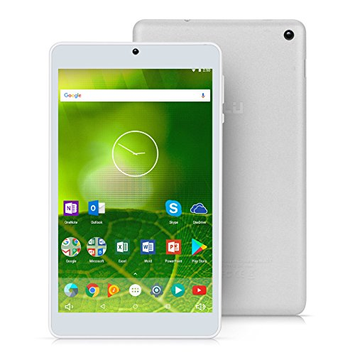 iRULU Expro 5 Tablet (x5) 7 Zoll Android 7,1 Nougat,800 * 1280 IPS HD Display,1GB + 16 GB Quad Core,GMS Zertifiziert(Silber)