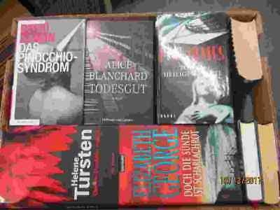30 Bücher Romane Krimi Thriller Psychothriller  Top Titel Bestseller Paket 1
