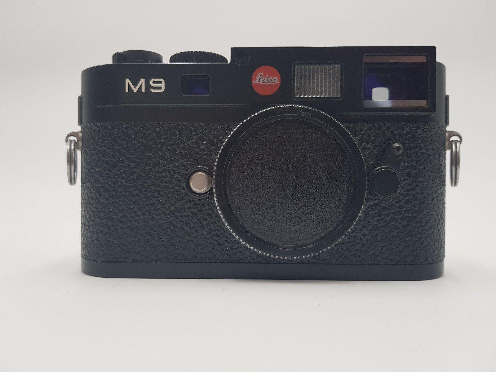 Leica M M9 18.0MP Digitalkamera - Schwarz