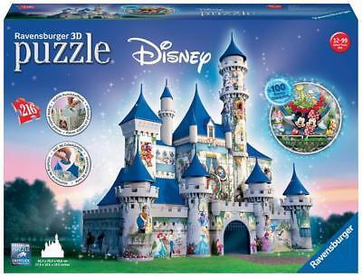 Ravensburger 12587 -  Disney Schloss,  3D-Puzzle