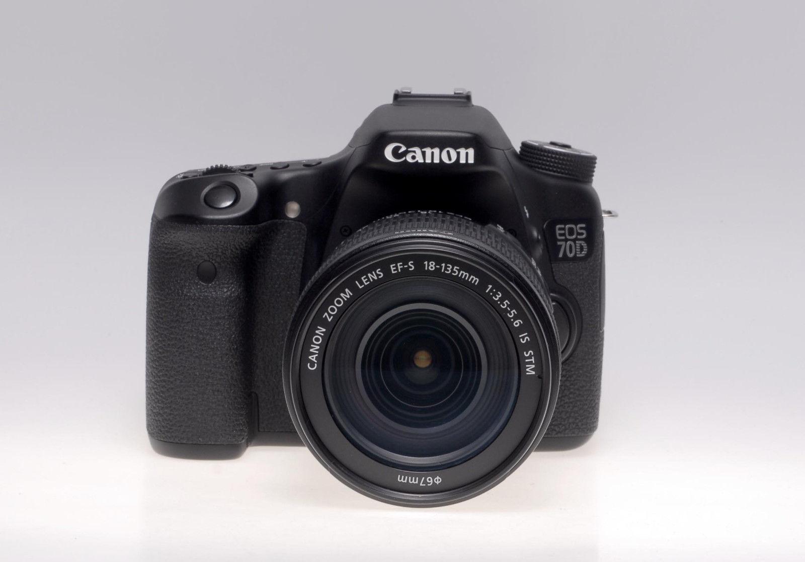 Canon EOS 70D - mit EF-S 18-135mm 1:3.5-5.6 IS STM - Vorführstück