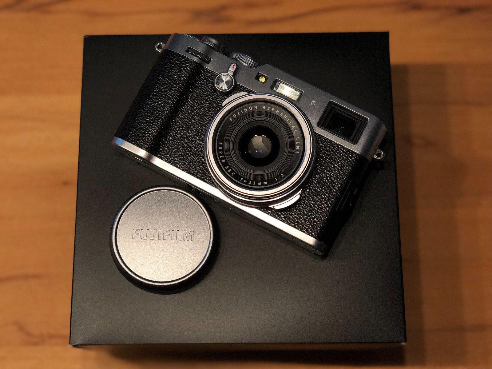 Fujifilm X100F in Top-Zustand, 1500 Auslösungen, gekauft 01/2017