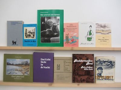 74 Bücher Platt Plattdeutsch Mundart niederdeutsche Sprache Dialekt