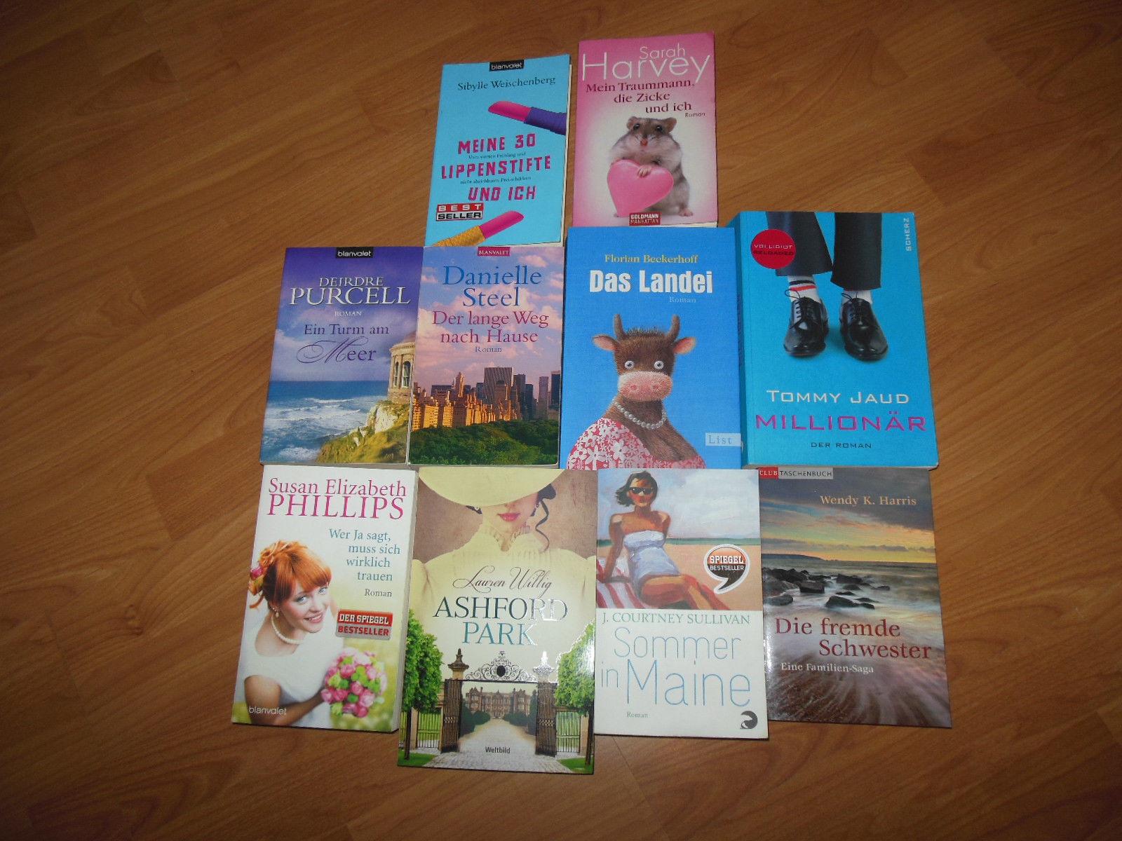 Bücherpaket 1 - Frauenromane