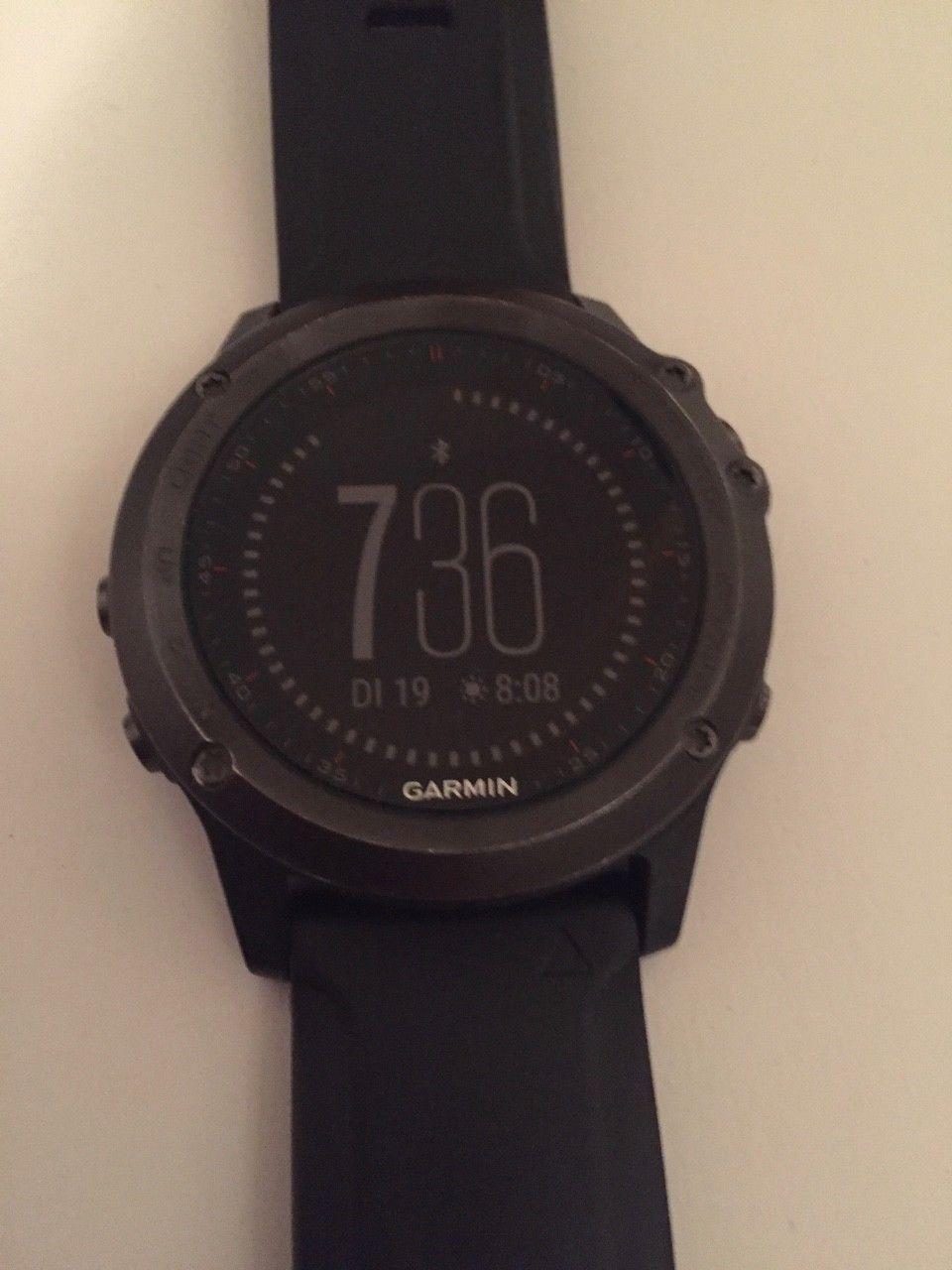 Garmin fenix 3 GPS Multisportuhr mit HRM Tri und HRM Swim