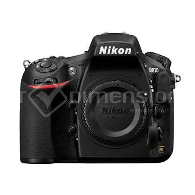 Nikon D810 36.3mp Full Frame DSLR Camera Body Multi Beste
