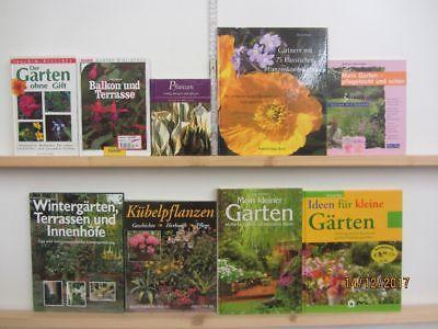 32 Bücher Garten gärtnern Gartengestaltung Gartenpflege Gartenkunst
