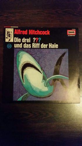 Die drei Fragezeichen und das Riff der Haie 30 EUROPA VINYL LP SCHALLPLATTE