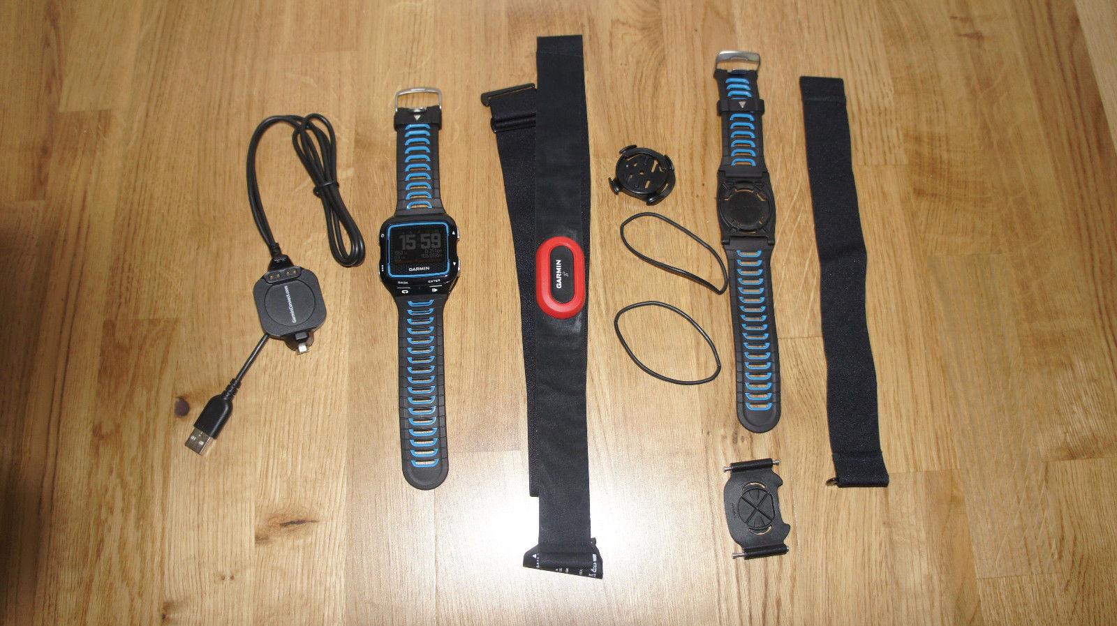 Garmin Forerunner 920XT mit Brustgurt und Schnellwechsel-Kit
