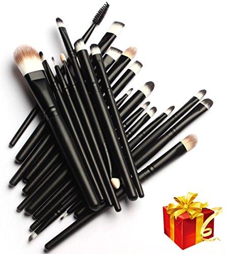 Imurz 20-Piece Multi-purpose Make Up Brush Set Cosmetic Eyeshadow EyeLiner Lip Brush Kits -- Professional Make-up Set by Imurz