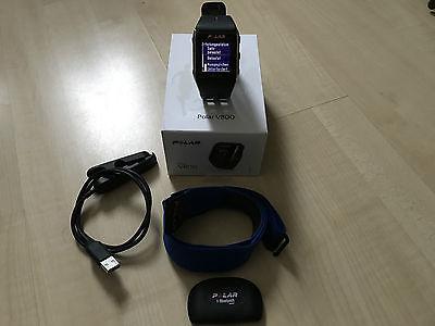 Polar V800 GPS Trainingscomputer mit Bluetooth Herzfrequenzmesser