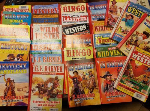 102 x Westernromane verschiedener Autoren. TOP!