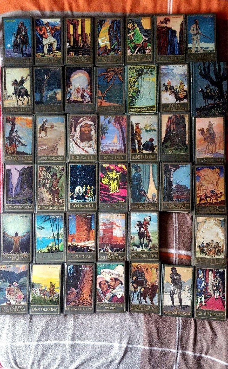 Karl May Sammlung  60 Bände