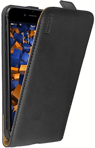 mumbi PREMIUM Leder Flip Case iPhone 6 Plus 6s Plus Tasche